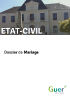 Démarches DossierMariage 180803